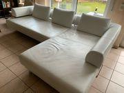 Sofa Lesersofa Couch Ecksofa aus