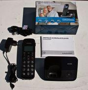Schnurrlos Telefon Grundig D530
