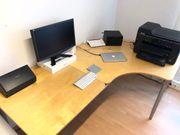 Komplettes Büro PRIORITET von Ikea