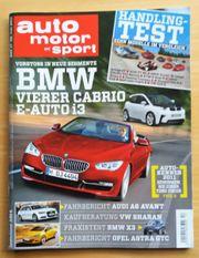 Auto Motor und Sport Zeitschrift