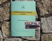 Betriebsanleitung Mercedes 190 Db Ponton