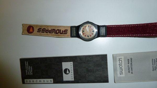 Swatch Snowpass Uhr mit Key