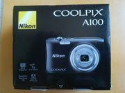 unbenutzte Nikon Coolpix A100 Digitalkamera