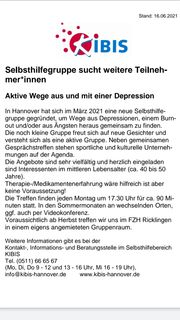 Selbsthilfegruppe Depressionen