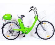Elektrofahrrad Fahrrad Grün Elektro Motor