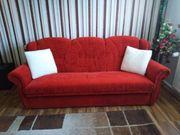 Couch 3 Sitzer mit Zubehör