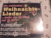 CD SET - Die schönsten Weihnachtslieder -