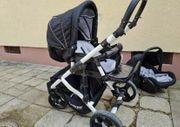 Kinderwagen kombi Farbe black edition