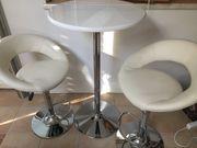 STEHTISCH Tisch Bistro Barhocker