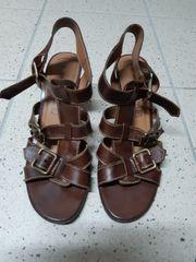 Sandalen mit Keilabsatz MARCO TOZZI -