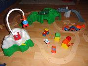 Spielbahn Auto oder Zug Fisher