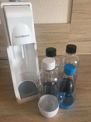 Sodastream cool weiß incl 4