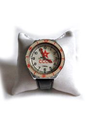Große Slava Armbanduhr