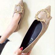 Schuhe f