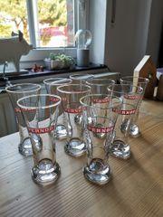 9x Pernod Gläser 2cl Anis