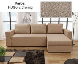 Polster, Sessel, Couch - Ecksofa COMO mit Schlaffunktion - Sofa