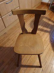 2 Echtholz-Stühle