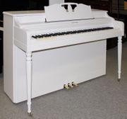 Klavier Wurlitzer weiß satiniert 5