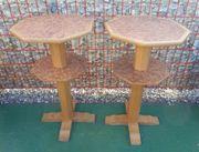 2 Stehtische - Bistrotische - Holz Stehtische