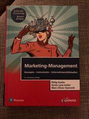 Buch Marketing Management Keller Kotler