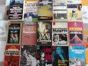 Bücher Heyne - diverse Romane - Konsalik