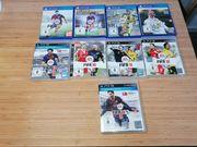 Verschiedene Fifa Teile PS3 und