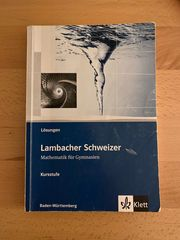 Lambacher Schweizer Lösungsbuch - Kursstufe