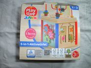 Playtive Junior 5in1 Motorik-Spiel Aktiv-Würfel