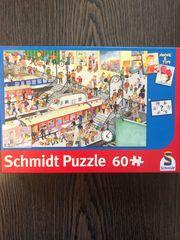 Schmidt Puzzle Bahnhof 60 Teile