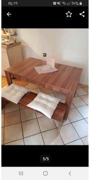 Esstisch mit 2 Sitzbänken