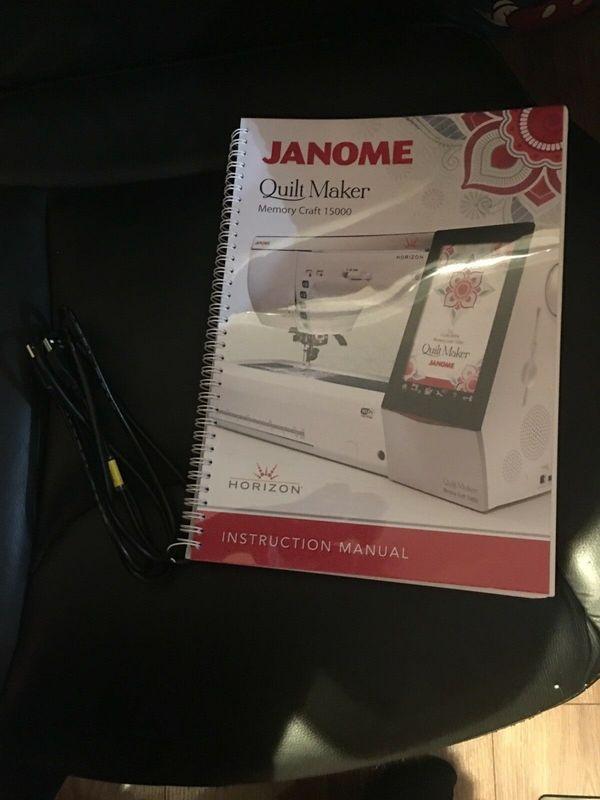 Janome Horizon Memory Craft 15000