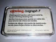 Rotring Zeichenkegel isograph F