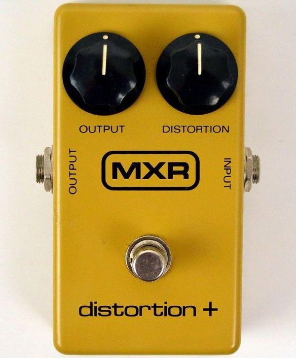 MXR Distorsion Pedal Vintage 80s