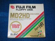 Disketten 5 25 von Fuji