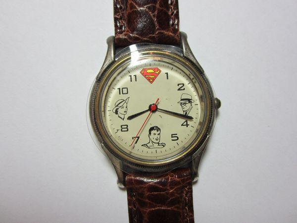 RARITÄT Fossil Superman Uhr 1993