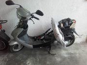 Motorroller und Ersatzteile wg Auflösung