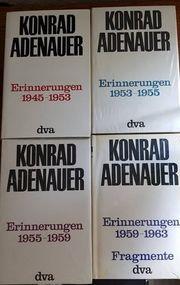 NEU - 4 x Konrad Adenauer