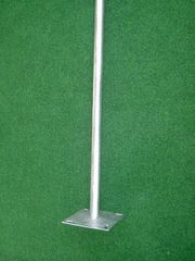 Sat-Standfuß Stahl verzinkt 120cm hoch