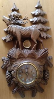 Barometer Thermometer aus Holz mit