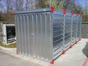 Einlagerungen Lagerraum Container 6m lang
