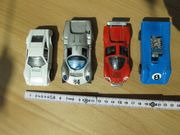 Politoys - 4 kleine alte Modellautos