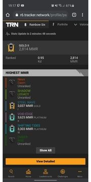R6 Account PS4