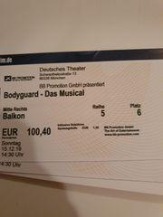 Tickets für Bodyguard Musical