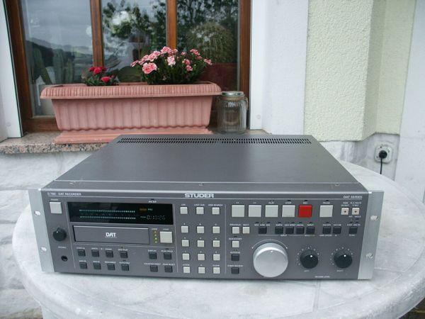 Studer D780 Professional DAT Recorder