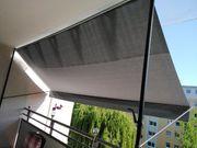 Klemm-Markise grau 4m sehr guter