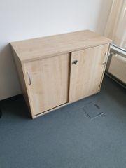 Sideboard Büroschrank Aktenschrank Schiebetürenschrank Büromöbel