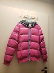 Pink Adidas Daunenjacke kurz