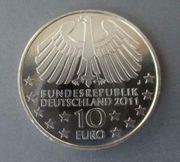 10 EUR Silbermünzen alle von