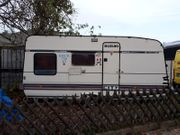 COVID19-freie Zone Bürstner Luxus Wohnwagen