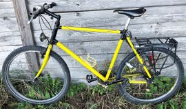 Mountain-Bikes, BMX-Räder, Rennräder - Großes 21-Gang Mountainbike 1994 Shimano